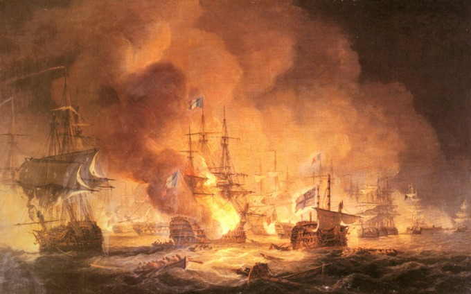 August 1st, 1798 - The Battle of the Nile