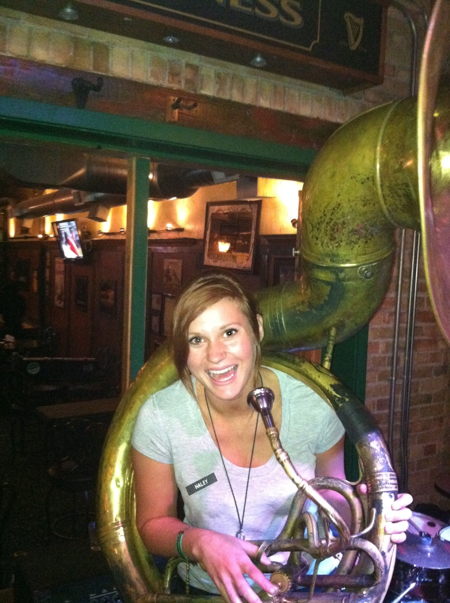 Beautiful Women Playing Tuba pt. 48   Dirty Bourbon River Show